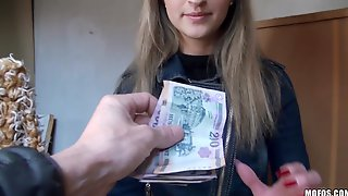 Melanie Blows And Gets Fucked For Money In Hardcore POV