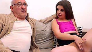 Old Man Fucks His Niece In Merciless XXX