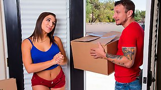 Friend Abella Danger Fucking In The Bed With Her Petite