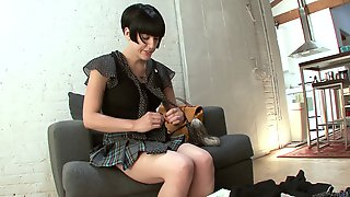 Kinky Wife Miss Myra Moans During Passionate Fucking In POV