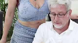 Mature Woman (coralyn Jewel) Takes A Gigantic Rod