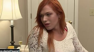 TS Babysitter Analed By Her Bfs Big Cock