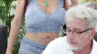 Mature Woman (coralyn Jewel) Takes A Gigantic Dick