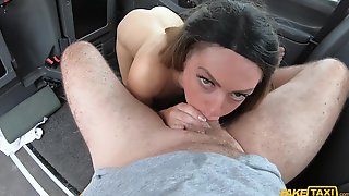 Fake Taxi Driver Measures Tight Ass With His Long Dick