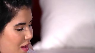 Two Passionate Czech Babes Playing Lesbian Games In Bed