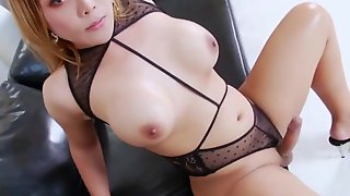 Busty TS Girl Angie T Craves To Masturbate : Part 2