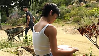 Bare Back GenderX - Daisy Taylor Fucks Her New Stepbrother