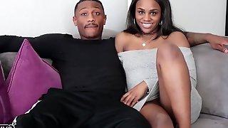 Busted Porn Black Guy With Huge Dick Fucks Ebony Slut, Bang