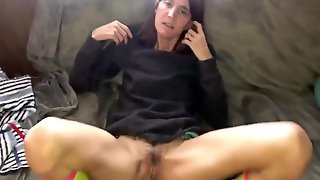 Skinny Becky Anal Quickie Creampie