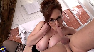 Ameli Monk - Mommy Gets Young Cock