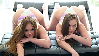 Cum4K: Creampie Foursome With Twin Sisters Sami And Joey White On Labor Day On PornHD