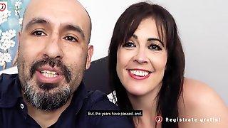 Spanish Threesome: Man Fucks Teen & Wife - Montse Swinger