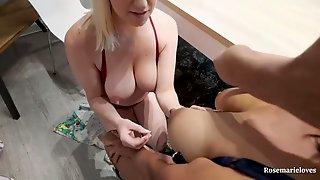 Angel On Cutie Breastfeeding Lactating Melons Interracial Lesbian Babes MILK PLAY Sexy Mamma Milfs