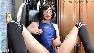 Japanese CD Nicola Masturbates In Swimsuit 3 Xh7sozo