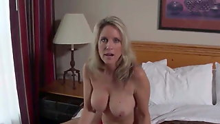 Fuck To Orgasm With Mature Stepmother - Homemade