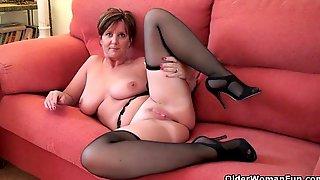 Strip, Beauty, British, Mature, Cougar