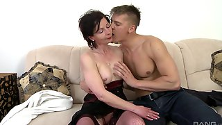 Mature Lets Nephew Bang Her Pussy Like A Bull