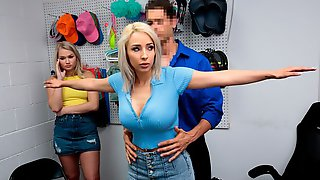 Lauren Pixie And Harley King Are Getting Fucked In The Office