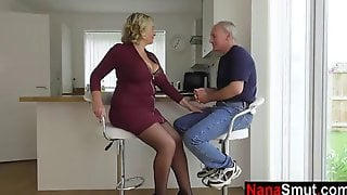 Voluptuous, Blonde Mature Is Having Casual Anal Sex With A Neighbor And Enjoying It A Lot