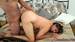 Grandma Licked Out And Fucked From Behind