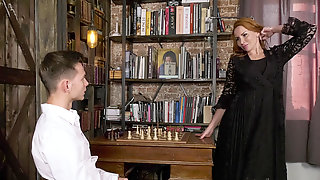 Tanya Foxxx Seduced A Chess Player To Win A Chess Game