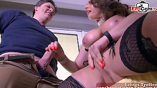 German Fat All-natural Hooters Wife Is Cheating