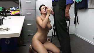 Thief Penny Barber Makes Blow Job And Gets Fuck