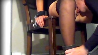 Wife Tied To Hitachi Chair Has Biggest Climax. Servitude: Submission: Erotic & Fleshly