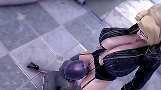 Tsunade Manager Poke Red-hot Hinata [3D] [Honey Select 2]