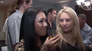 Angel Valentine And Rebecca Steel Hot Group Sex