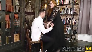 Chess Game Ends For Mature And Her Young Rival With Hot Sex