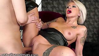 Big Tits, Ass, Leather