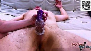 Mastix Tortures Slaves Knob. Vibrating Egg. Rubs Head Of Penis. A Lot Of Semen BadGirlandBadBoy