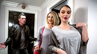 Amoral Dyke Ivy Lebelle Steals Glamour Babe Emma Hix From Her BF