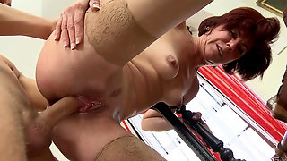 Mature Pushes The Limits During Sex With Horny Nephew