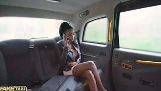 Fake Taxi Black Chick Asia Rae Cummed On Twice