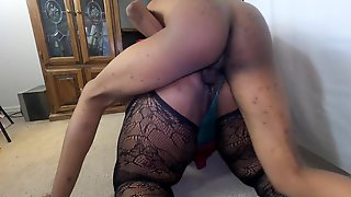 Sexy Black With 42Fs!!! Large Mom Gets Anal, Her Large Ass Gets Voided Urine On And Her Bulky Vagina Urinated In!