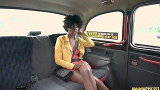 Fake Taxi Glamorous Black Rides A Biggest Ramrod In Her Pink Vagina