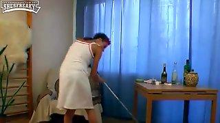 Drunk Maid Got Fucked