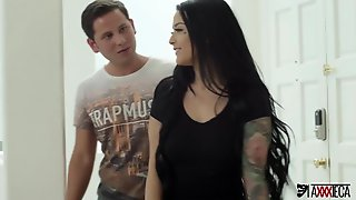 Mexican Piano Teacher Jack Escobar Takes Advantage Of The Situation And Bangs Katrina Jade Truly Excellent!!