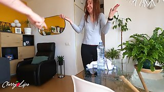 April Fools Day Ends Screwing My Spanish Roommate By Mistake - Cherry Lips 4k