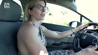 Secret Vacation With My Step Mommy - Undressed Car Ride And Hotel Oral Pleasure - Cory Pursue