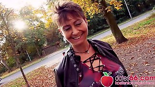 Unsightly Short Hair Granny Mother Id Like To Fuck Pounded Outdoors In Germany! Dates66