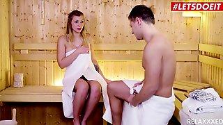 Relaxxxed - My Large Bazookas Girlfriend In The Sauna LETSDOEIT