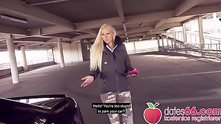 NASTY! Golden-Haired Livecam Hotty Gets Screwed On A Park Deck! Dates66