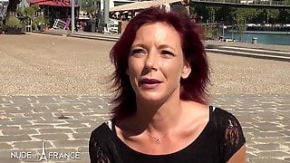Red Haired Aged Is About To Have Sex With A Younger Chap, For The 1st Time Ever