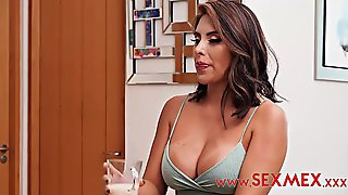 Great Looking Brunette Hair Cant Sleep Unless This Babe Sucks And Rides A Inflexible Rod, For A During The Time That