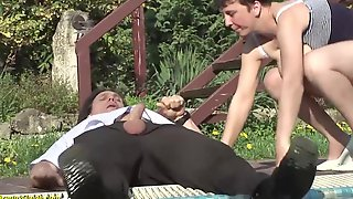Insatiable, Hungarian Woman Is Having Wild Sex With A Younger Chap, After Giving Him A Oral-job