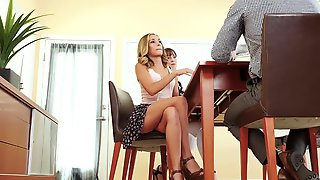 FamilyStrokes - Hawt Teen Shows Off Her Vagina For Step Uncle