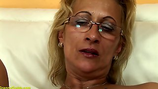 Lascivious, Hungarian Granny Is Often Using Sex Toys Or Screwing Younger Lads, Until That Babe Gets Gratified